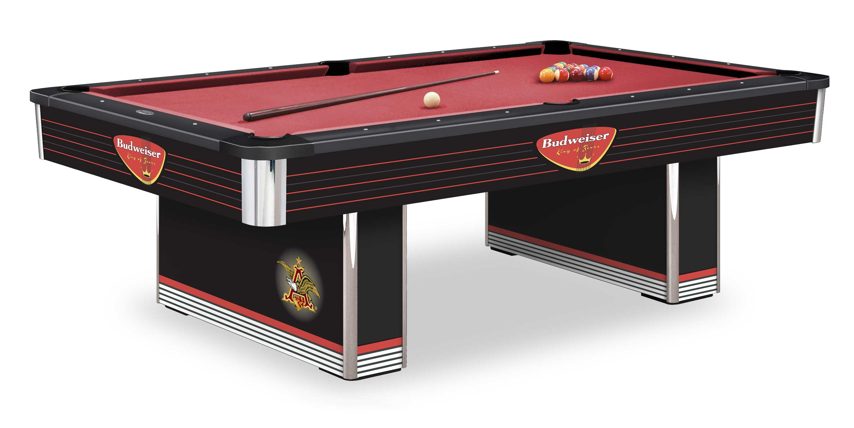 New Jersey Budweiser Pool Tables Budweiser Olhausen Billiards Pool - Retro pool table