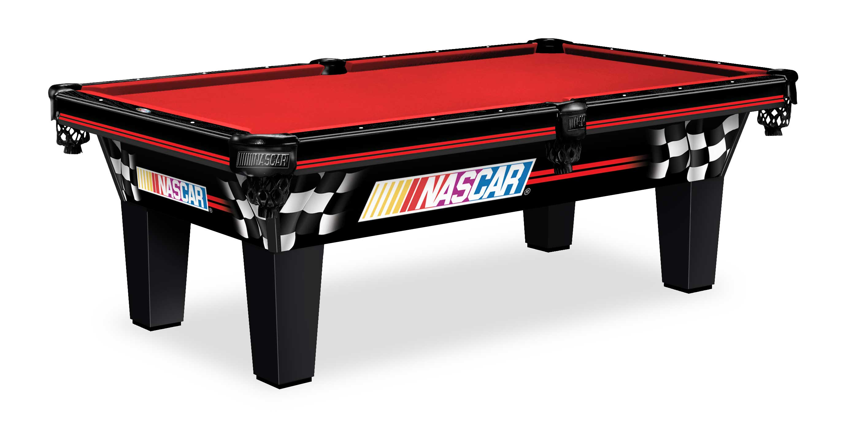 New jersey nascar pool tables olhausen billiards pool table nj for Table table logo